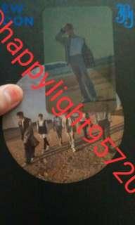 (WTS)JBJ NEW MOON ROH TAEHYUN TRANSPARENT CARD