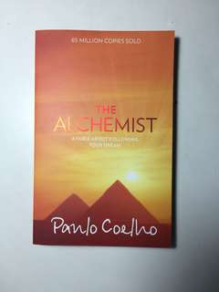 THE ALCHEMIST IN GOOD CONDITION