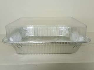 Aluminum tray with Lid