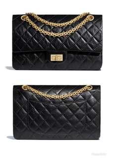 徴 Chanel 2.55 方扣classic 24cm 金鍊