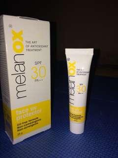 Melanox spf 30 PA++ sunblock