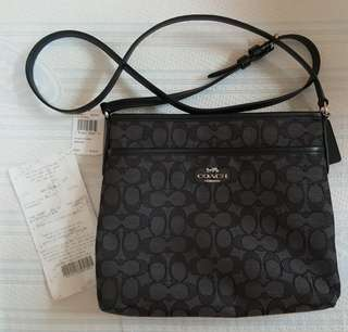 On Hand! Coach File Bag