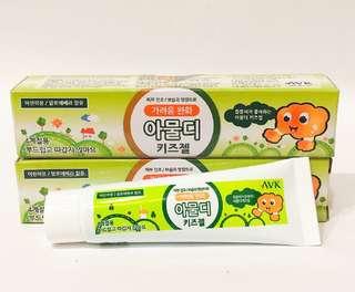🚚 韓國 AVK 溫和蚊蟲叮咬止癢保濕膠(兒童專用) 25g