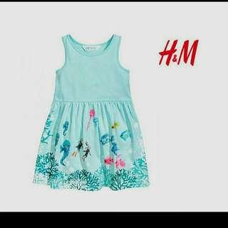 authentic H& M girls dress  Overruns