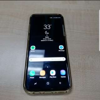 Samsung S8 Plus 128gb 6gb RAM factory unlock, open for swap.