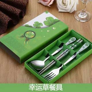 Spoon Fork Chopstick Set