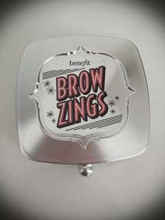 BENEFIT brow zings eyebrow shaping kit * FREE brand new lipstick*