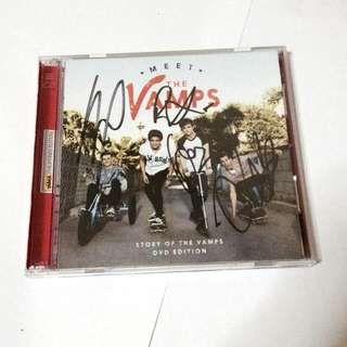 SIGNED THE VAMPS ALBUM *RUSH SALE*