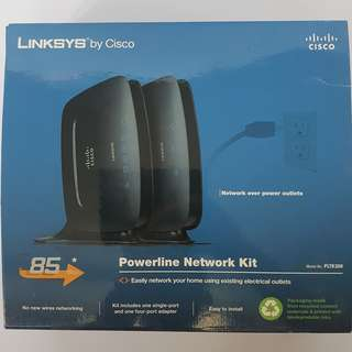 Preloved Powerline Network Kit PLTK300