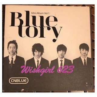 🚚 CNBLUE 『Blue tory/孤獨的人 』出道迷你專輯CD+DVD (絕版)~李宗泫、姜敏赫、李正信、鄭容和