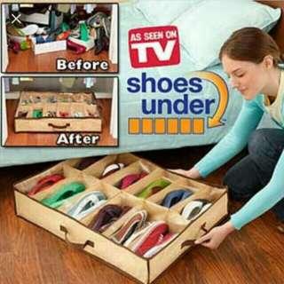 Foldable shoe organizer