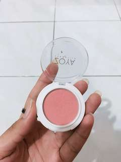 blush on zoya