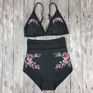 Suza Highwaisted Two Piece