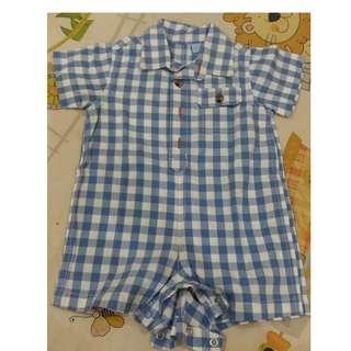 Jumper bayi laki laki usia 3-6 bulan