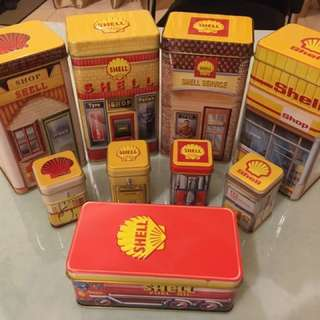 Shell Canisters (2016 complete set)