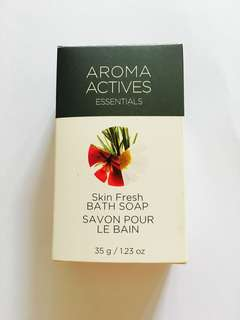 AROMA ACTIVES SKIN FRESH BATH SOAP 35g