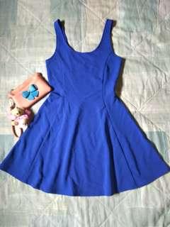 BNEW H&M Royal Blue Dress