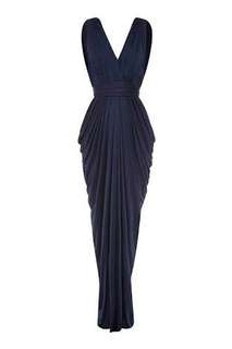Sheike navy gown