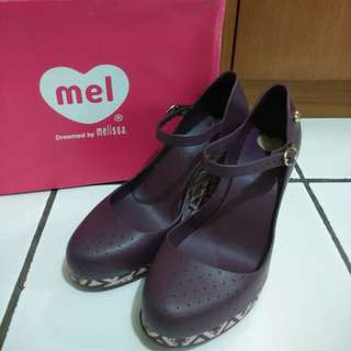 Melissa Wedges Shoes 38 Mel Popstar II Purple #mausupreme