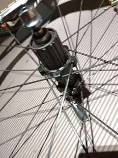 Shimano Dura Ace C24 wheelset carbon road wheels