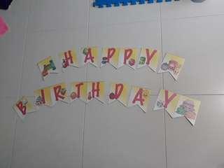 Happy birthday Shopkins Banner