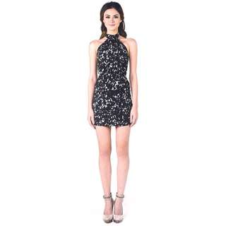 Olivia and Fifth Halter Cocktail Dress