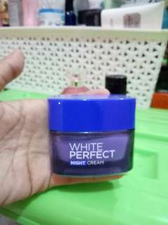White Perfect Night Cream