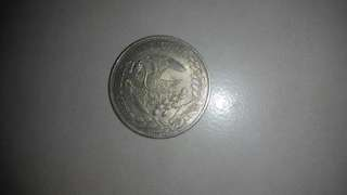 Old coin Republica mexicana