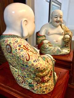 Sweet Face Porcelain Matrieya Buddha