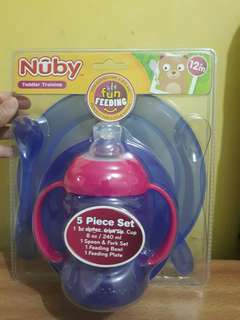 Nuby 5 in 1 Feeding Set