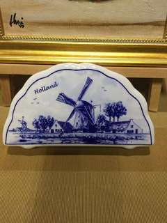 Holland Napkin Holder + Napkins