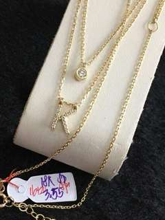 Pure gold 18k saudi gold necklace
