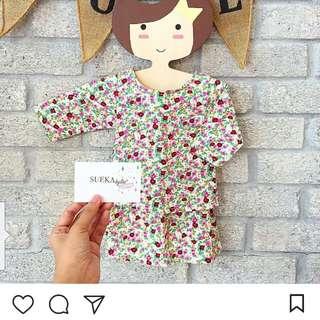 Baju Kurung Cotton (6-12m)