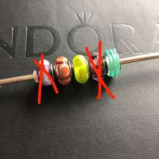Pandora Murano Charms Beads