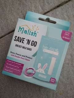 Kantong ASIP malish save n' go 100ml (30pcs)