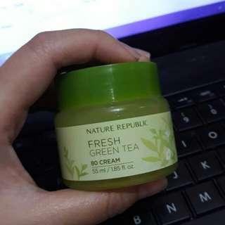 nature republic 80 cream fresh green tea moisturizer