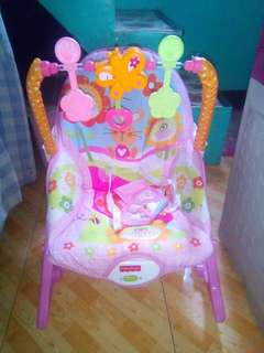 Baby rocker for girl