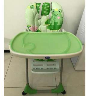 Chicco 2in1 Poly highchair