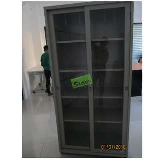 5 LAYER GLASS SLIDING DOOR CABINET--KHOMI