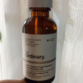 Organic Cold-Pressed Rose Hip Seed Oil