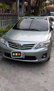 Toyota Corolla Altis 1.6V Top of the Line (Call 0932 459 2968)
