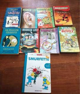 Assorted English books