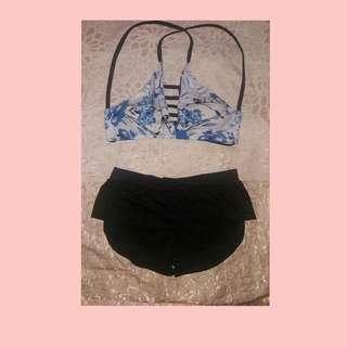 Bra & Short Swimsuit