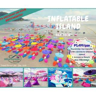 Inflatable Island Day Tour
