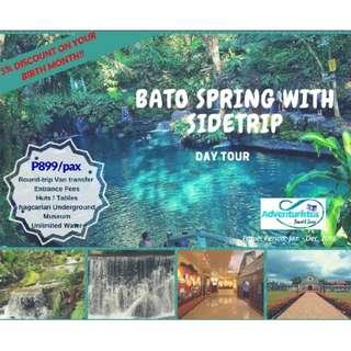 Bato Spring Day Tour
