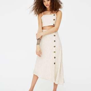 PULL AND BEAR Asymmetric Skirt