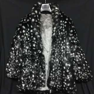 VINTAGE SUPERFLY STUDIO 54 FAUX FUR JKT COAT FOR RENTAL