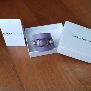 BALENCIAGA bracelet triple tour size M