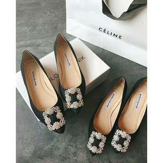 Manolo Blahnik flat/ heels