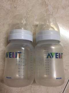 2pcs Avent Bottle 260ml
